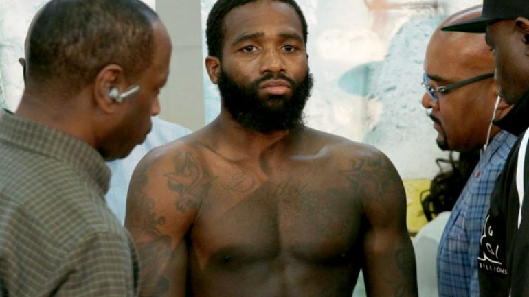Adrien Broner pats himself on the back after Spike TV ratings splurge