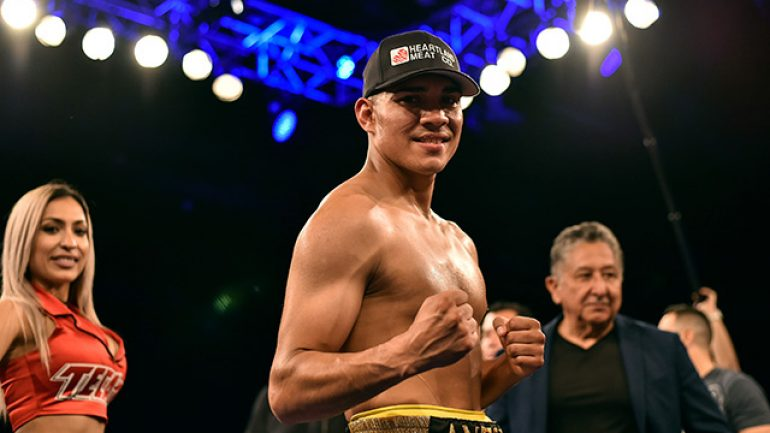 Antonio Orozco blasts Miguel Acosta in one round