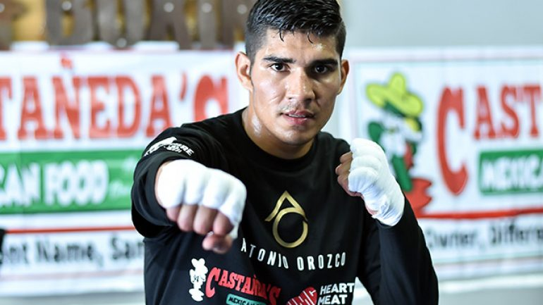 The boxing education of Antonio Orozco continues