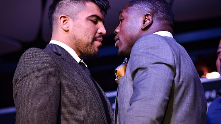 Victor Ortiz and Andre Berto ready to duplicate 2011 war