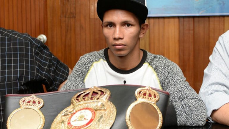 Byron Rojas braves hostile territory again, this time as champion