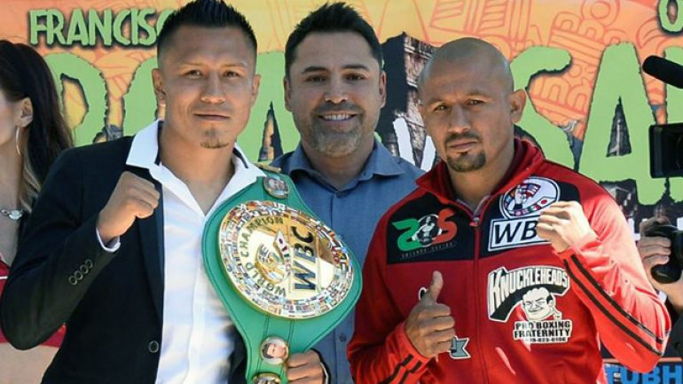 Francisco Vargas-Orlando Salido fight announced in Los Angeles