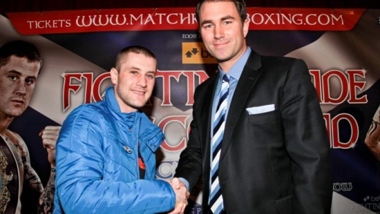 Ricky Burns returns to 140 pounds for Michele Di Rocco