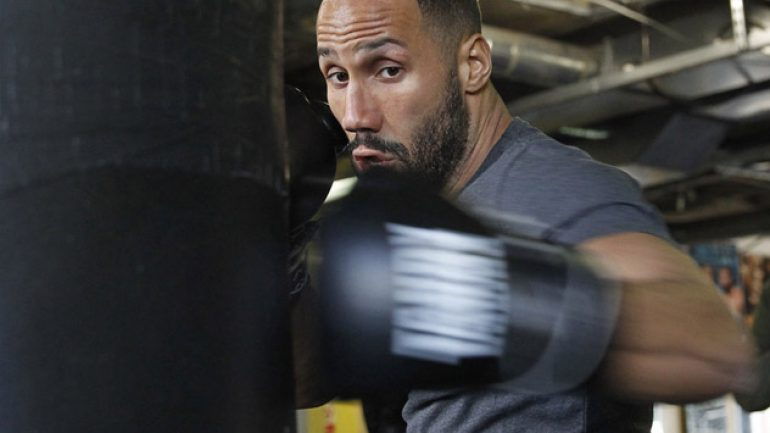Photo gallery: James DeGale workout