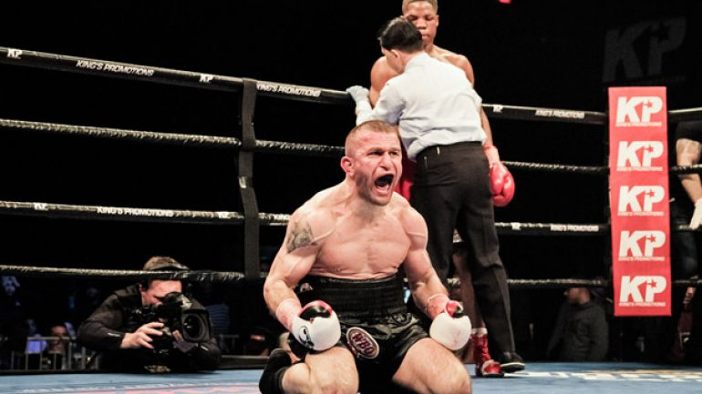Khurtsidze has knockout-or-bust approach for Langford