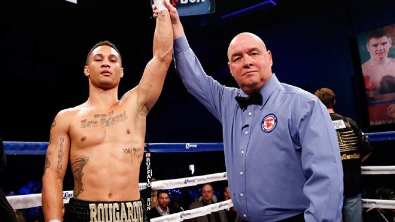 Regis Prograis stops Aaron Herrera in one round