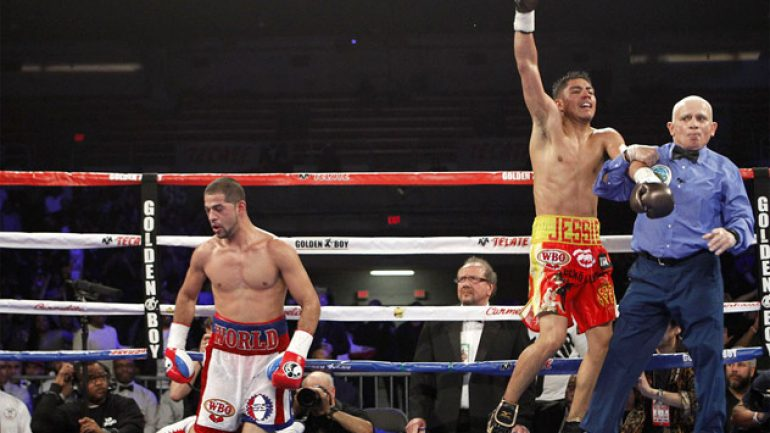 Jessie Vargas stops Sadam Ali in ninth round to win title