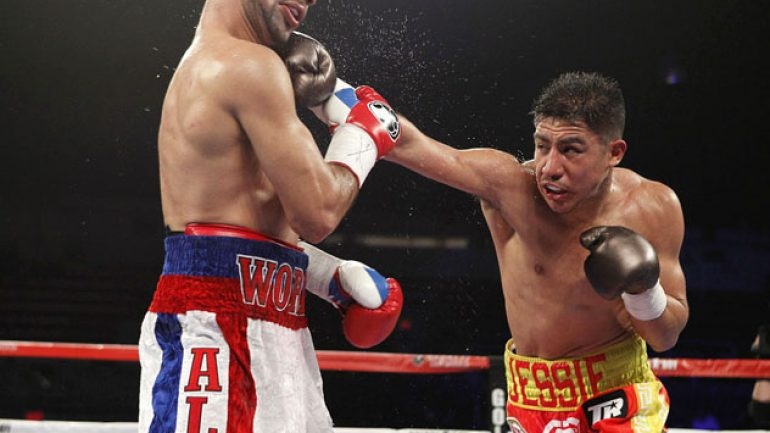Jessie Vargas signs to fight Kell Brook in England, says he needs a KO