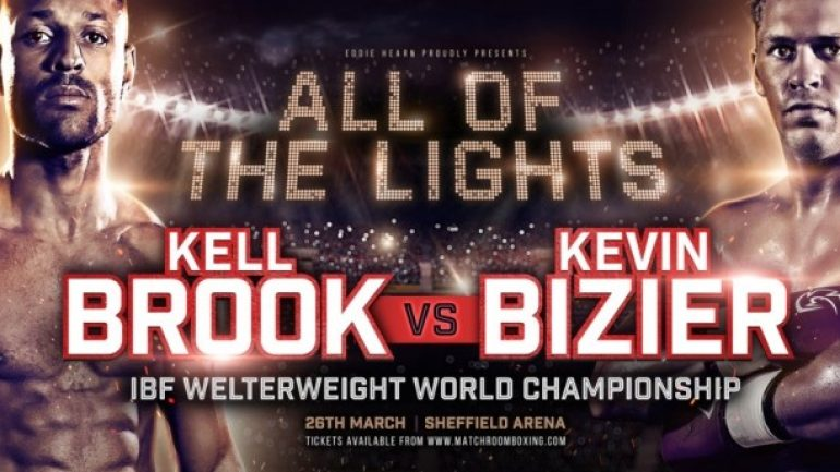 Kevin Bizier to bring the heat in Kell Brook clash