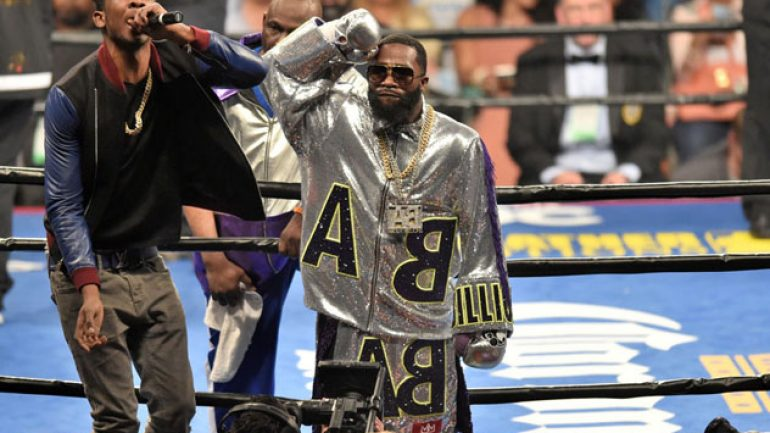 Adrien Broner stops Theophane in nine, calls out Floyd Mayweather Jr.