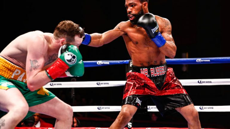 Gary Russell Jr. blows out Patrick Hyland, retains WBC title