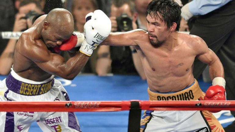 Photo gallery: Manny Pacquiao vs. Tim Bradley III