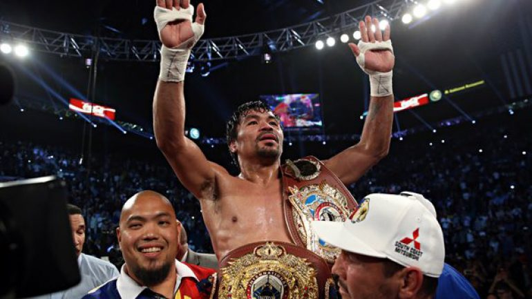 Manny Pacquiao dominates Tim Bradley, confirms retirement