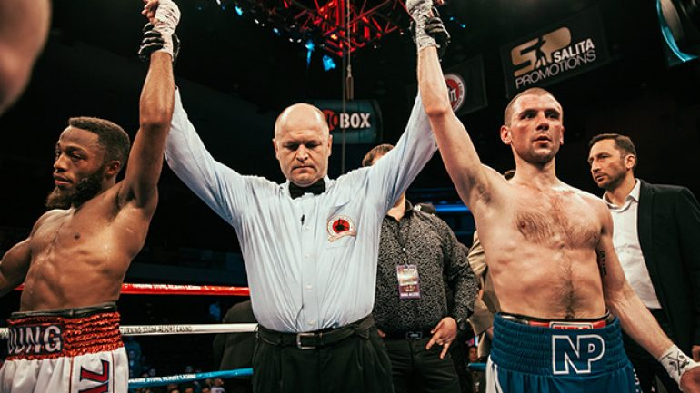 Stephon Young and Nikolay Potapov fight to majority draw