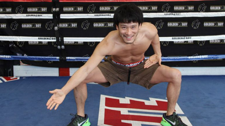 Photo gallery: Jesus Soto Karass-Yoshihiro Kamegai workout