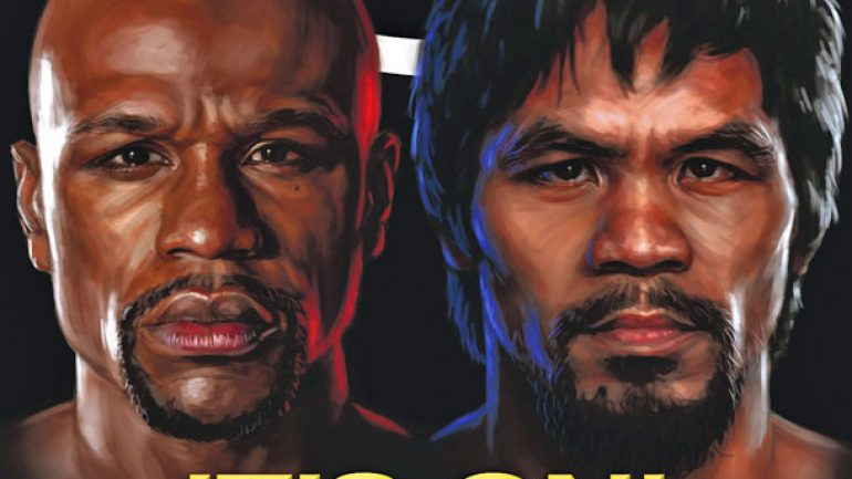 Floyd Mayweather Jr.: That's how he (shoulder) rolls: From THE RING Magazine
