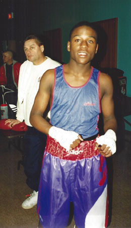 Floyd Mayweather Jr S Early Years From The Ring Magazine