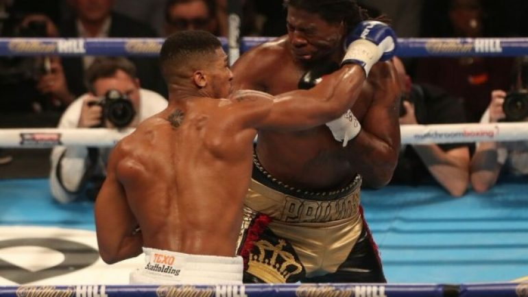Showtime wants Anthony Joshua 'for the rest of his career'