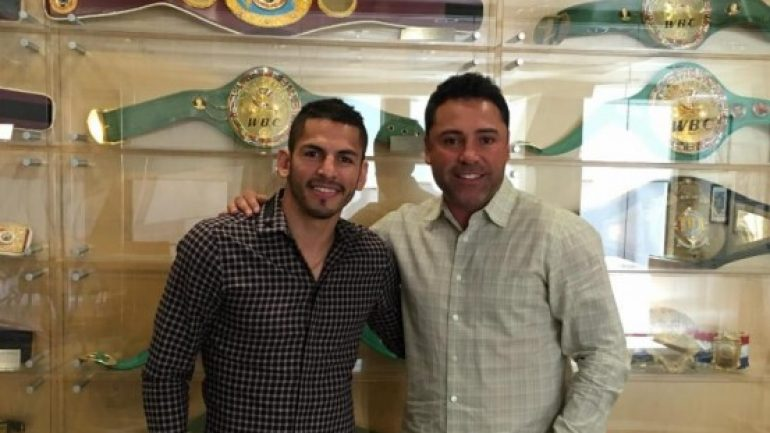 Golden Boy inks titleholder Jorge Linares to a multi-year agreement