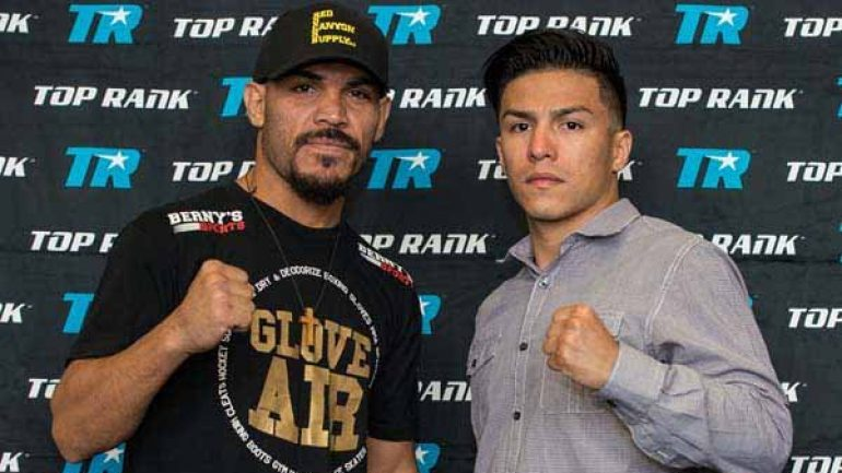 After a yearlong absence, Ray Beltran stops Ivan Najera