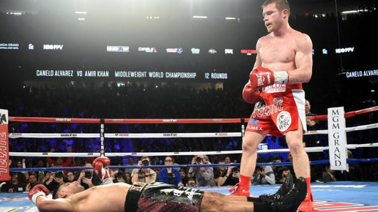 Photo gallery: Canelo Alvarez vs. Amir Khan