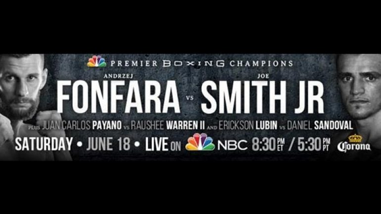 Can a regular Joe make an extraordinary effort against Fonfara?
