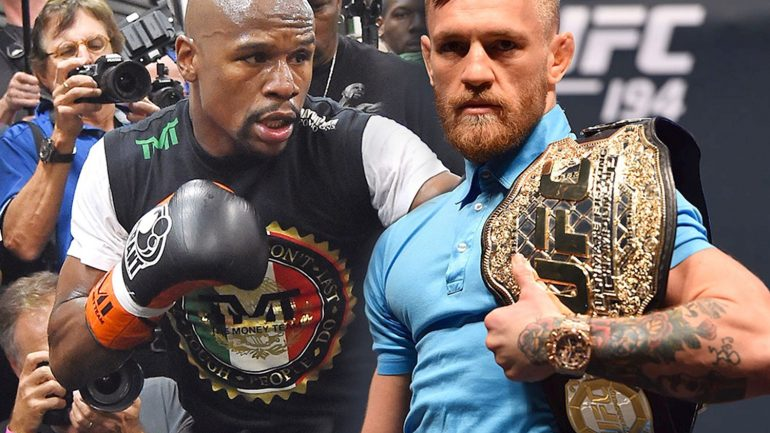 Mayweather's visits to Roach's gym spark McGregor and Pacquiao rumors