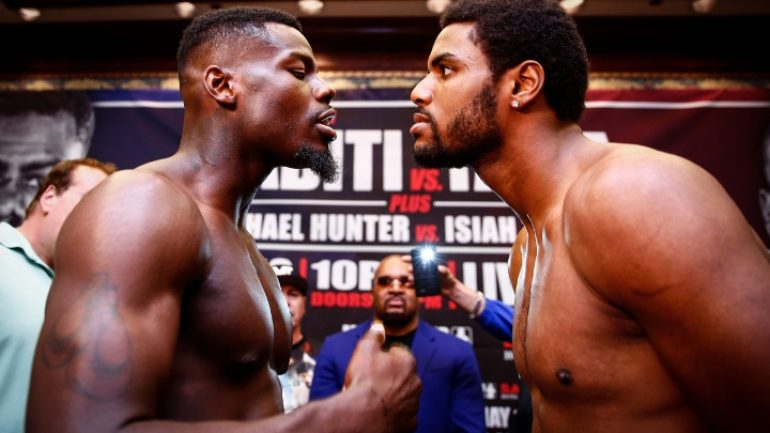 Andrew Tabiti and Keith Tapia clash tonight on 'ShoBox'