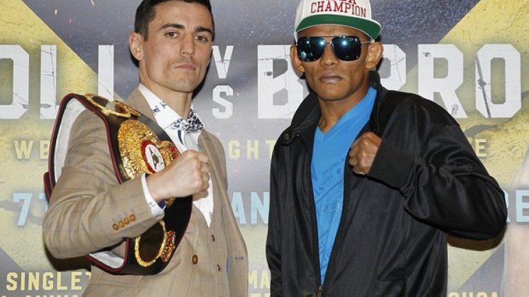 Anthony Crolla primed for WBA title defense against brawler Barroso