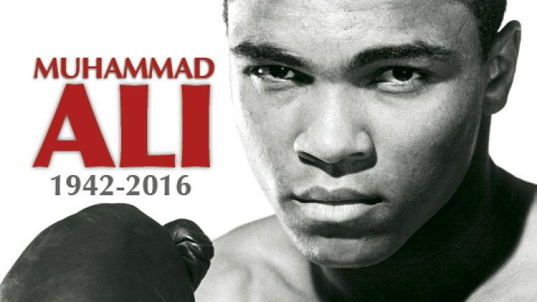 Muhammad Ali memorial issue available now
