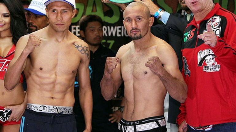 Francisco Vargas-Orlando Salido weigh-in results