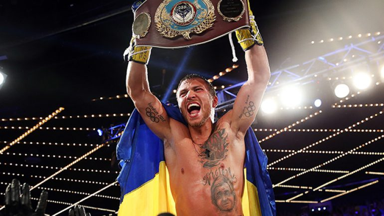 Vasyl Lomachenko has yet to decide if he will go down to 126 or stay at 130