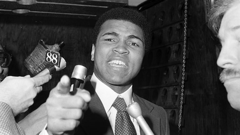 Boxing stars react to the passing of Muhammad Ali