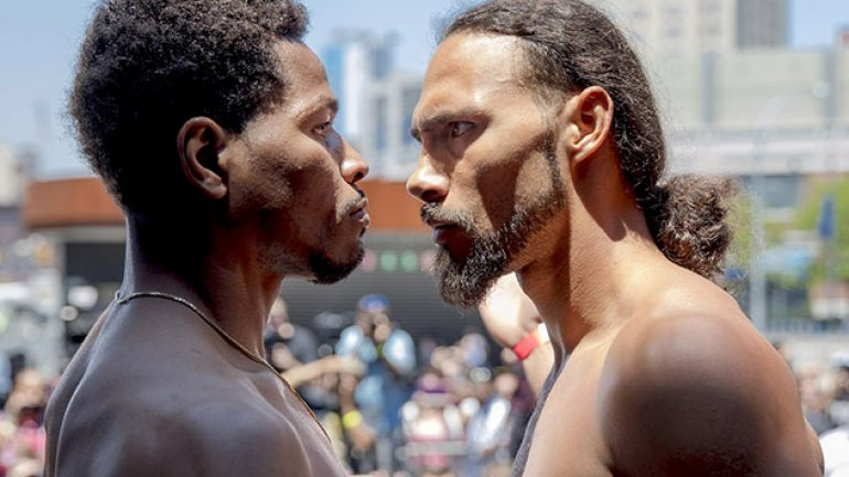 Photos and results: Keith Thurman-Shawn Porter weigh-in