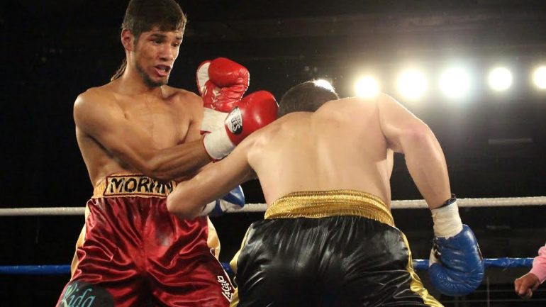 Antonio Moran to face Juan Pablo Sanchez tonight