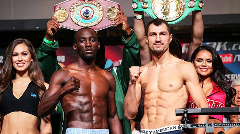 Terence Crawford dominates Viktor Postol to unanimous decision