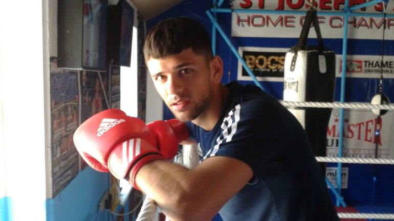 Amateur Joe Cordina travels toward an Olympic dream