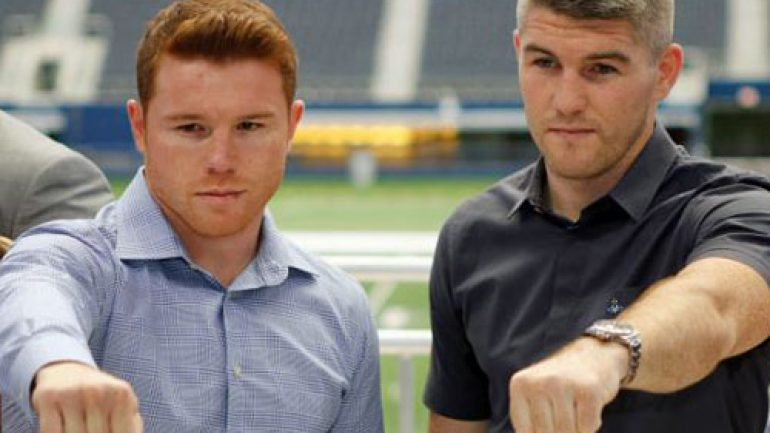 Canelo Alvarez and Liam Smith say they won't leave anything to chance