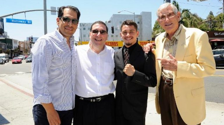 Banner, Thompson Boxing sign amateur standout Ruben Villa