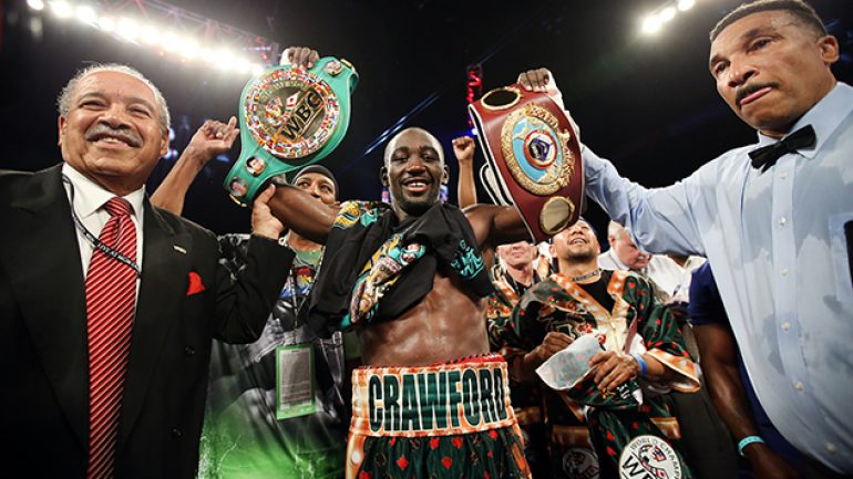 Crawford out until 2017 with no HBO dates