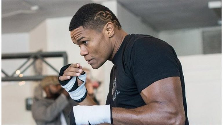 Eleider Alvarez: 'I am just happy to fight'