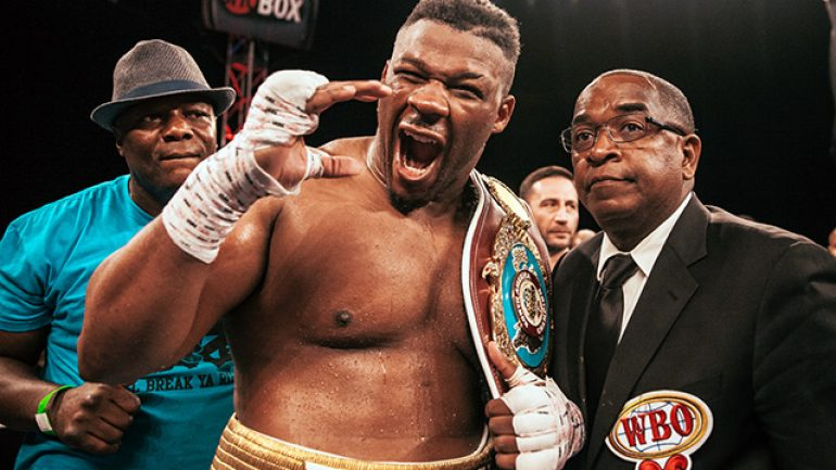 Jarrell Miller gets back in heavyweight mix with Gerald Washington fight