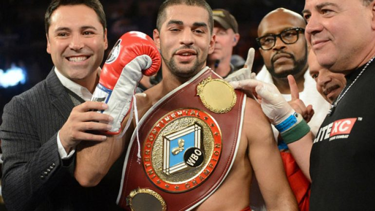 Sadam Ali to defend 154-pound title against Liam Smith on May 12 on HBO