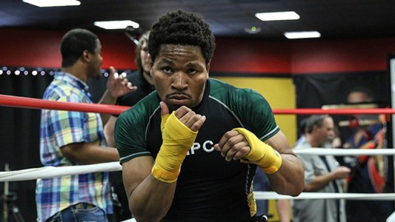 Shawn Porter has a date but no opponent, says dad