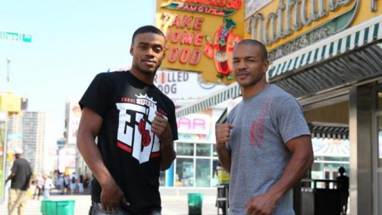Spence nearly knocks Bundu out of the ring, calls out Kell Brook