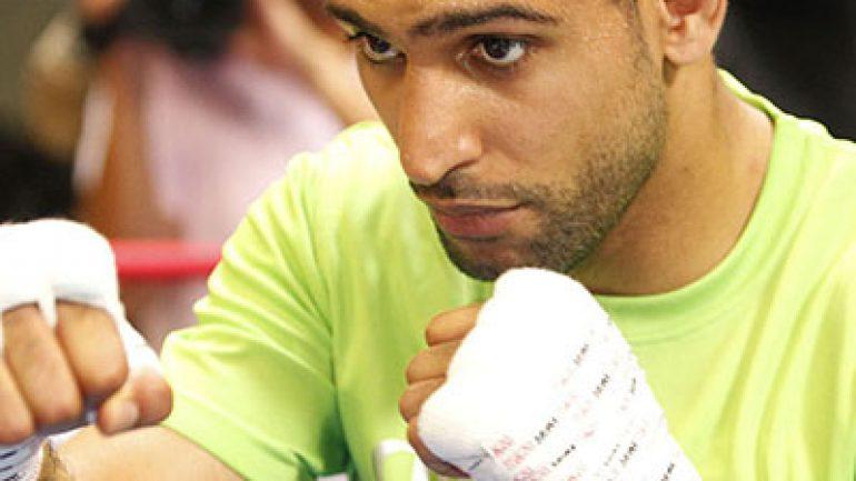 Amir Khan: I'm hungry, ready for Brook, Thurman-Garcia winner