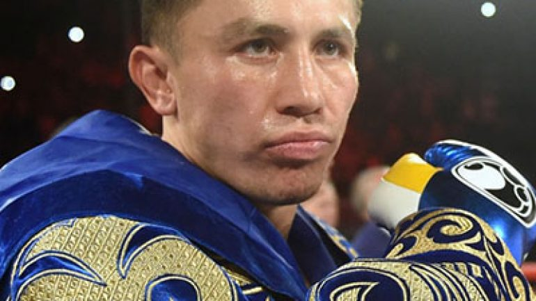 Gennady Golovkin: 'Everybody wants this fight'