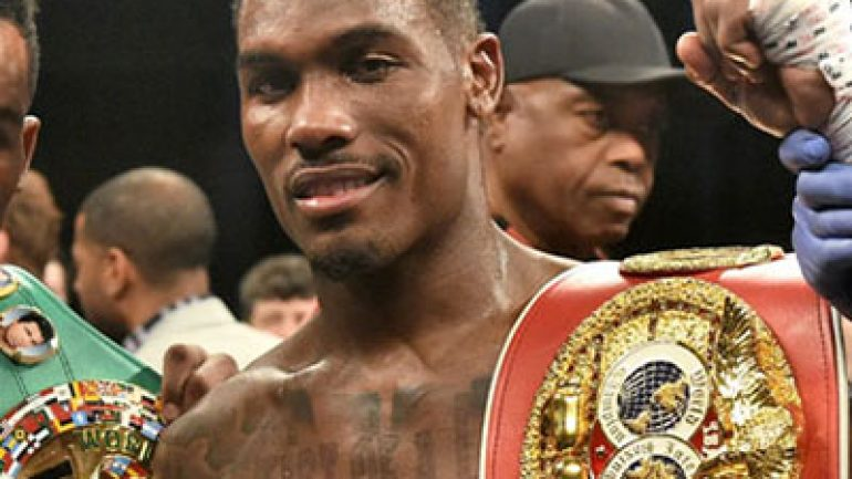Charlo-Williams done for December, says trainer