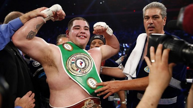 WBO orders Andy Ruiz-Joseph Parker for title
