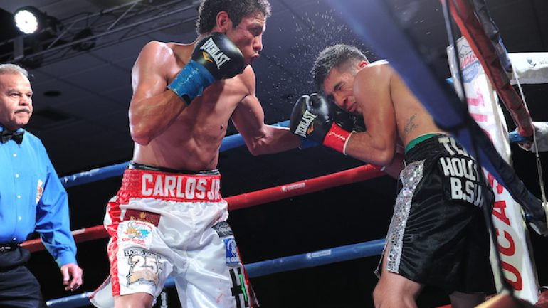 Carlos Carlson to face RING 118-pound champ Shinsuke Yamanaka